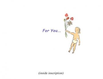 For You inscription