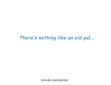 Knit Wits - Inside Inscription